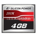 Флеш карта памяти Compact Flash Silicon Power на 4 Гб (120x)